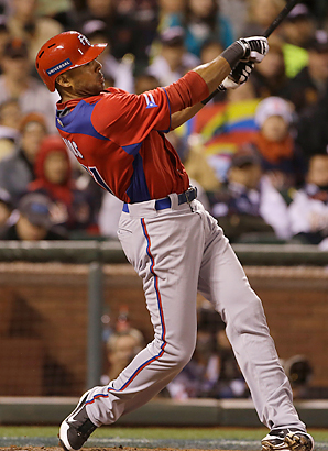 Alex Rios' two-run homer in the seventh inning against Japan helped propel Puerto Rico past Japan and into the World Basbeall Classic final.
