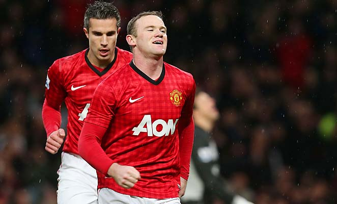 Wayne Rooney, Robin van Persie and Manchester United have the title all but locked up.