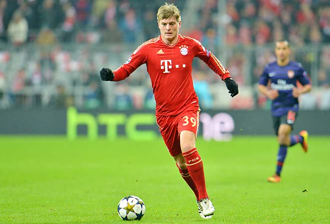 Toni Kroos will miss Germany's match against Kazakhstan with an inflammed knee.