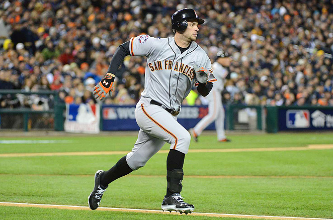 Brandon Belt had 12 steals in 2012, but he needs to improve his hitting to be a solid fantasy player.