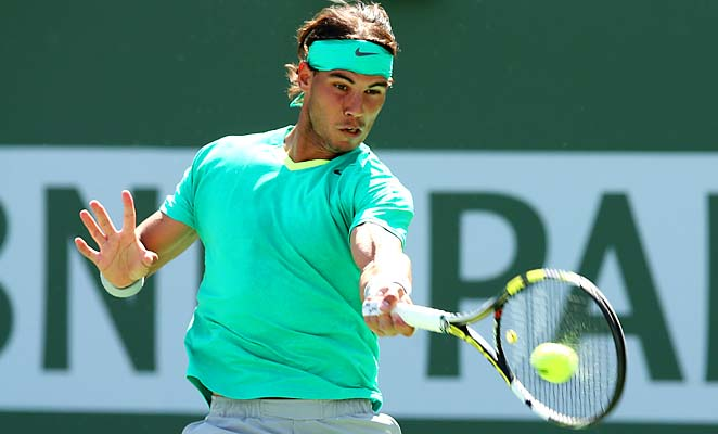 "Rafael Nadal called the new enforcement on time rules ""a disaster"" at Indian Wells."