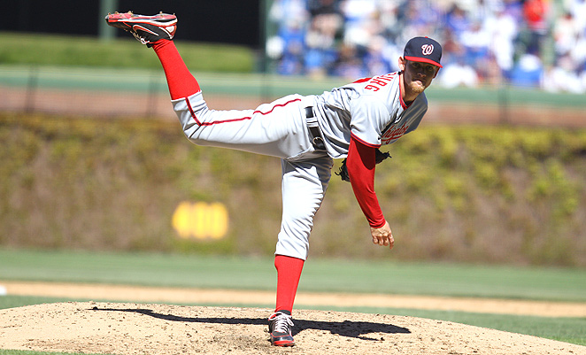 "Stephen Strasburg could post record strikeout totals if he's allowed to pitch ""without restriction."""