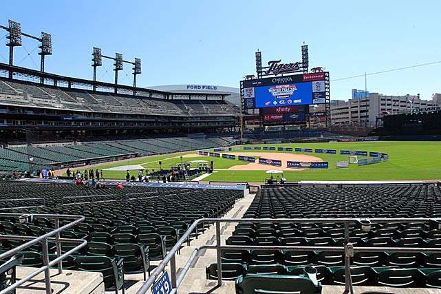 As part of the Michigan Classic, Detroit's Comerica Park will host a weeklong series of events, including college, OHL and AHL games.