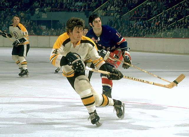 The NHL's first million dollar player when he signed a five-year contract at $200,000 per season prior to the 1971-72 campaign, Orr proved to be worth every penny, scoring 37 goals and 117 points.