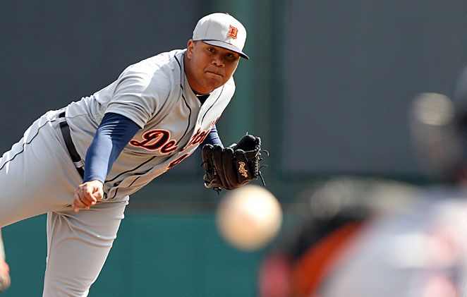 Bruce Rondon, 22, posted a 1.53 ERA across three levels of the minors in 2012.