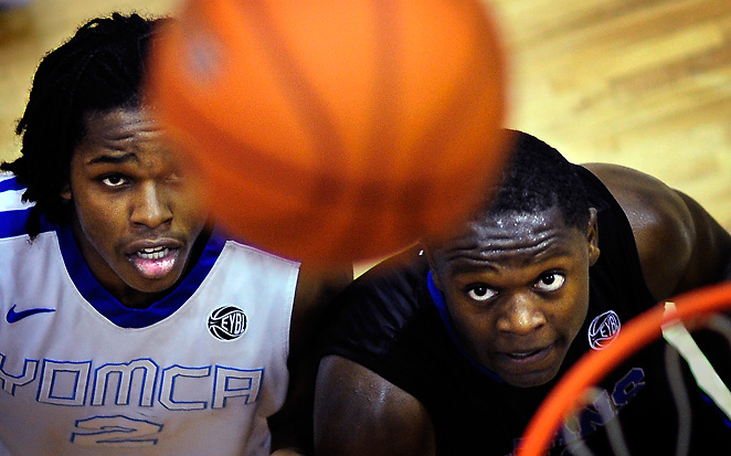Julius Randle (right) committed to Kentucky to become the sixth McDonalds All-American to join UK.