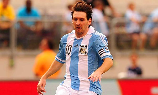 Lionel Messi and Argentina play Venezuala in Buenos Aires on Friday.