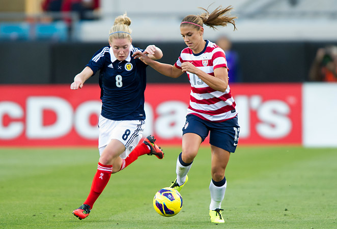Alex Morgan will join the rest of the U.S. Women's National Team for upcoming friendly matches.