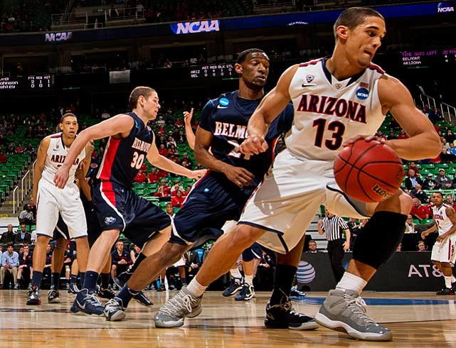 Nick Johnson and the Wildcats improved their record to 26-7 and draw Harvard next.