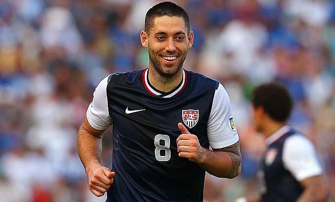 Clint Dempsey was surprisingly named the captain in the absence of Carlos Bocanegra and Tim Howard.