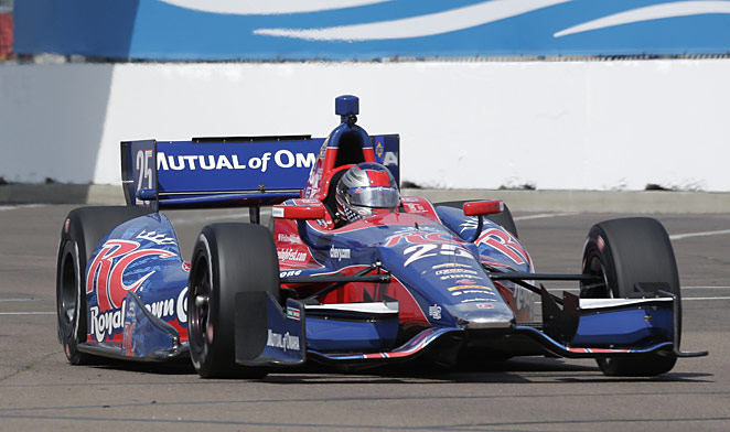Marco Andretti has been fighting the image of being a spoiled brat.