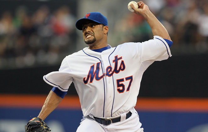 As expected, Johan Santana won't break camp with the Mets. He'll be on the DL, instead.