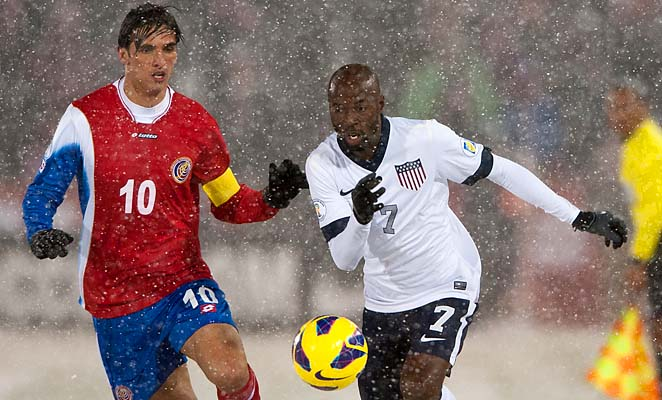 DaMarcus Beasley is two caps away from reaching 100 in his U.S. career.