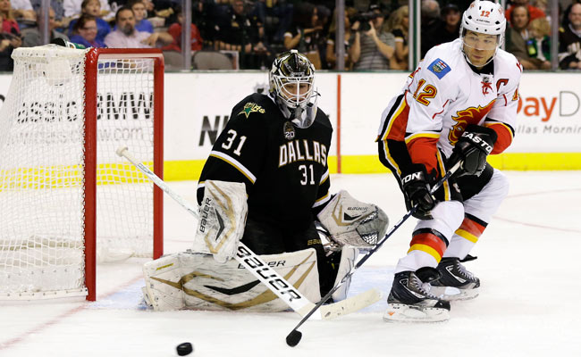 Goaltender Richard Bachman has gone 1-3 in four starts with the Dallas Stars this season.