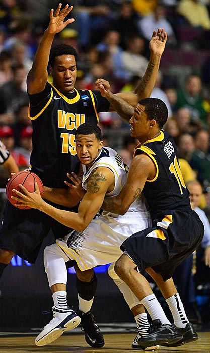 <bold>Defeated San Diego State 71-56</bold> <bold>Defeated VCU 78-53</bold> <bold>Next: vs. Kansas </bold>(<bold><italics>SI's live bracket</italics></bold>) <bold>The 71-point swing by VCU -- from a 46-point win to a 25-point loss against Trey Burke and Michigan -- was the largest in NCAA tournament history, according to STATS. In 1968, Houston beat Texas Christian 103-68 to reach the Final Four, then lost to UCLA 101-69 for a 67-point swing.</bold>