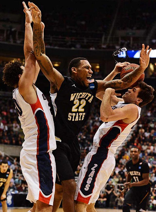 <bold>Defeated Pitt 77-55</bold> <bold>Defeated Gonzaga 76-70</bold> <bold>Next: vs. La Salle </bold>(<bold><italics>SI's live bracket</italics></bold>) <bold>Carl Hall and the Shockers broke through to the Round of 16 for the first time since 2006.</bold>