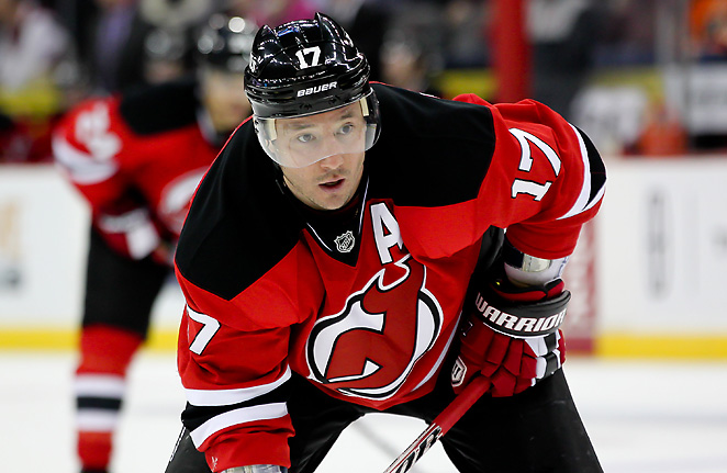 Ilya Kovalchuk is second on the Devils in scoring with 27 points and had played in all 32 games.