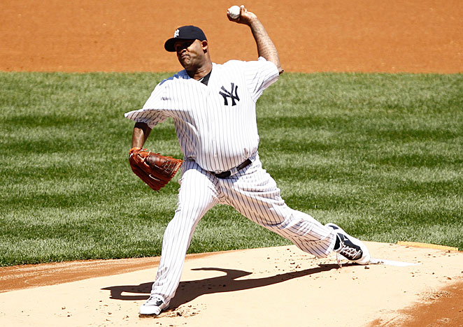 CC Sabathia, coming off a 15-6, 3.38 ERA season, must again carry a heavy load for New York.