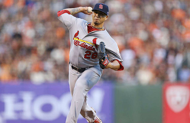 Kyle Lohse finished seventh in the Cy Young voting in 2012 after going 16-3 with a 2.86 ERA.