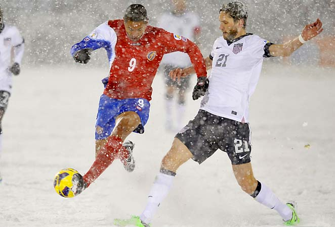 The U.S. got its first points of the Hexagonal with a win over Costa Rica on Friday.