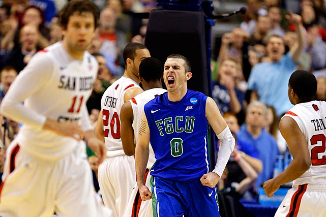 """<bold>Perhaps the headliner of the crew from """"Dunk City,"""" Comer reached double-figures in scoring only twice in Florida Gulf Coast's previous 10 games before the tournament. The sophomore is now averaging 11 points per game in tournament play, but it's been his playmaking that has kept the Eagles alive. Comer is averaging 12 assists per game through two tournament contests, tops in the country during postseason play and nearly double his season average of 6.6.</bold>"""