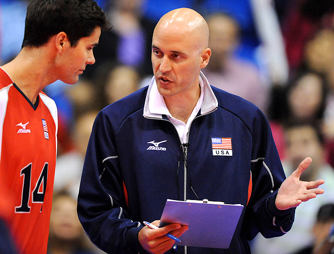 John Speraw served as an assistant for the men's volleyball team at the 2008 Olympics.