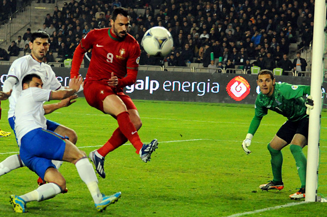 Hugo Almeida scored the second goal in the 79th minute to seal the much-needed victory for Portugal.