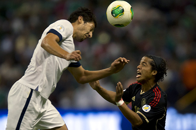 Omar Gonzalez made seven clearances and four interceptions for the U.S. in its 0-0 draw at Azteca.