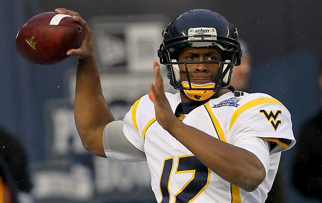 Interest in Geno Smith seems to have risen after he went 60 of 64 at his recent Pro Day.