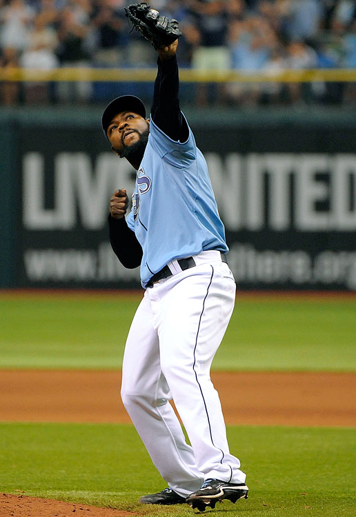 Fernando Rodney is not going to post a 0.60 ERA again; even when he did so last year the Rays didn't make the playoffs, and that team didn't have James Loney at first base. (SI's Experts Predictions)