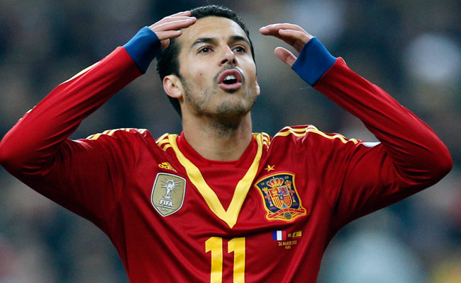 Pedro scored the only goal of the match during Spain's World Cup qualifier vs. France.