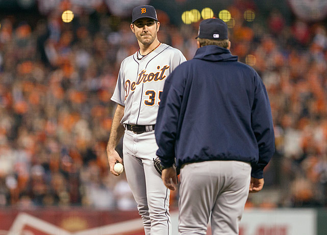 Justin Verlander is 0-3 with a 7.20 ERA in three World Series starts. (SI's Experts Predictions)
