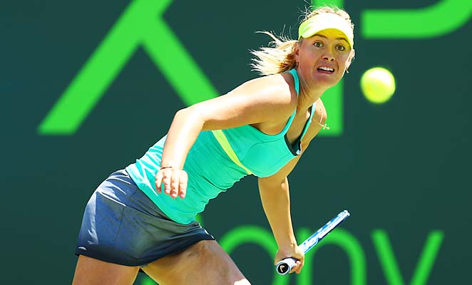 Maria Sharapova will go up against Serena Williams in an attempt to win her first Sony Open.