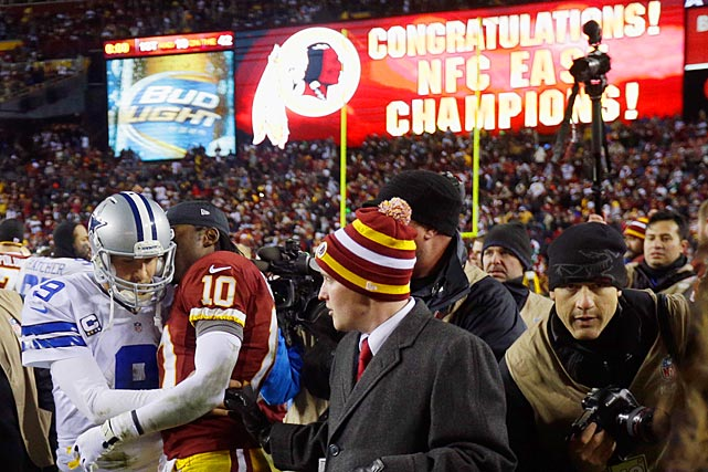 Yet another season came down to the Cowboys needing a victory on the last week of the regular season to make the playoffs. This time they lost to rookie sensation Robert Griffin III and the Redskins, giving rise to Dallas-area media saying it was time to cut ties with Romo.