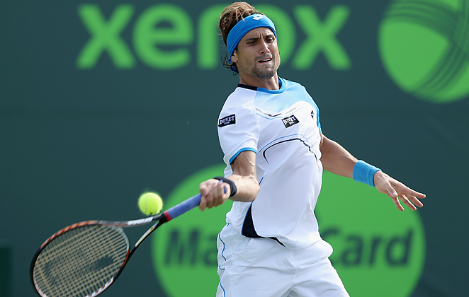 David Ferrer improved his record to 25-4 in 2013 after defeating Tommy Haas to reach the Sony final