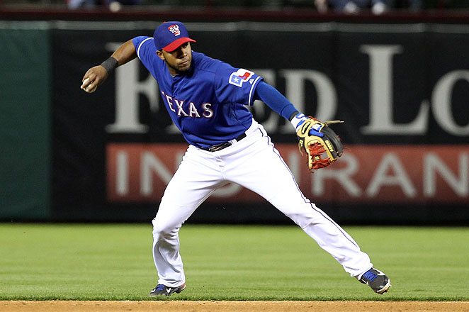 Elvis Andrus has made two All-Star teams in his five-year career with the Texas Rangers.