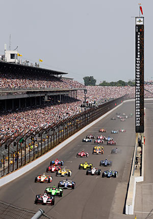 The Indy 500 will be held on May 26.
