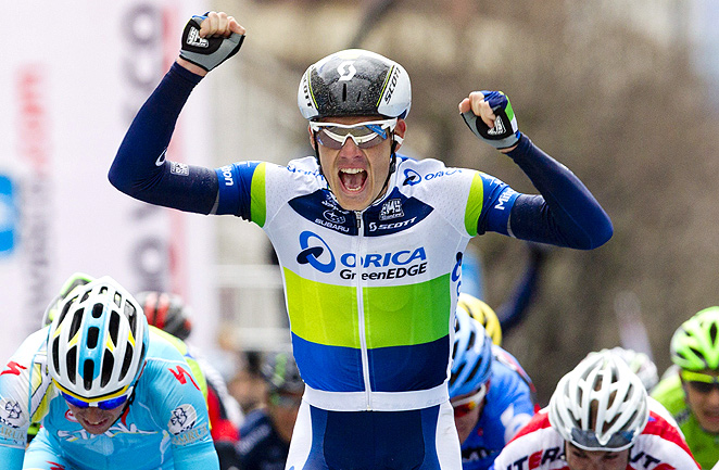 South Africa's Daryl Impey took the Tour of Basque Country lead from stage one winner Simon Gerrans.