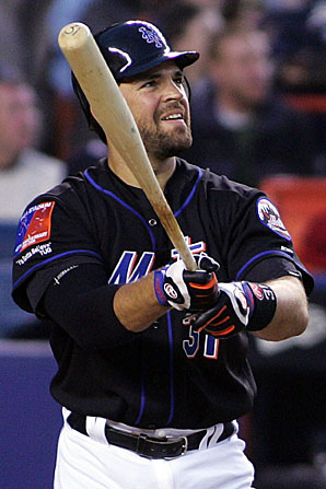 Mike Piazza put up Hall of Fame-worthy numbers as a catcher, primarily with the Dodgers and Mets.