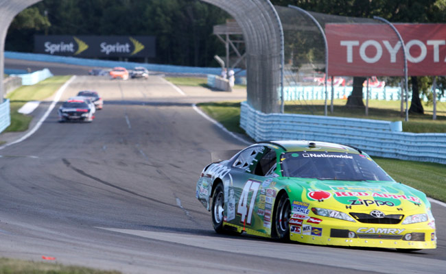 Road courses such as Watkins Glen are not included in determining the winner of the Chase.