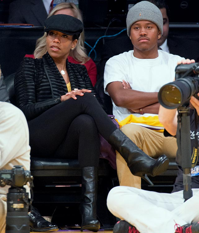 Celebrities At NBA Games