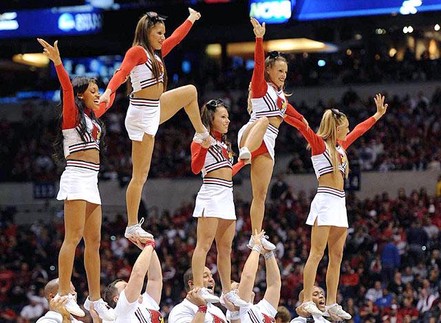 cardinals cheerleaders Louisville