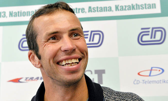 Radek Stepanek has seen his ranking fall from No. 31 to No. 45 during inactivity.