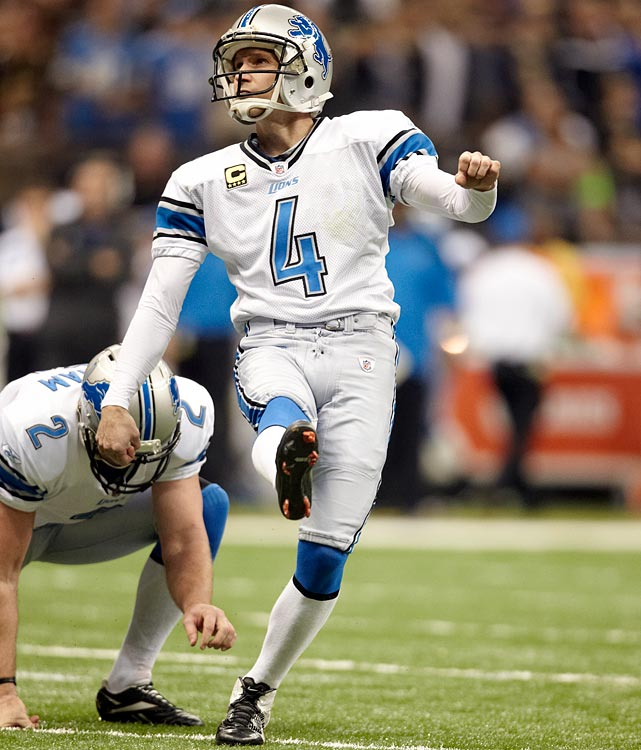 The NFL's longest-tenured player, Lions kicker Jason Hanson, retired after 21 seasons on April 4. Hanson, 42, holds league records for games played with one team (327) and 50-yard field goals (52), and is third in NFL history with 2,150 points and 495 field goals. He had been Detroit's place-kicker since the team drafted him with a second-round pick in 1992. Hanson made 32 of 36 field-goal attempts in his final season -- three of his four misses hit an upright.
