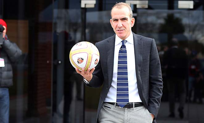 Paolo Di Canio's debut as Sunderland manager comes at Chelsea on Sunday.
