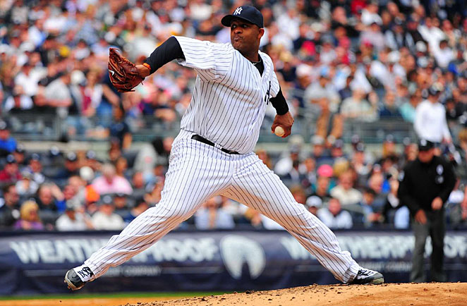 CC Sabathia's drop in velocity will be a problem worth watching all season for the Yankees.