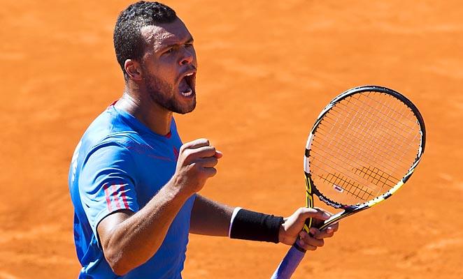 Jo-Wilfried Tsonga is slated to face Juan Monaco in the reverse singles.