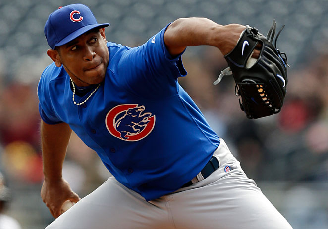 Carlos Marmol got off to a dreadful start that confirmed every Cubs' fans worst fears.