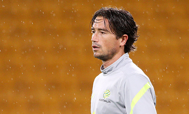 Harry Kewell has not played professional soccer in a year, having left Melbourne Victory at the end of last A-League season.