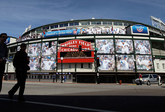 Plans for Wrigley Field include video scoreboards, a parking garage and a $200 million hotel complex.